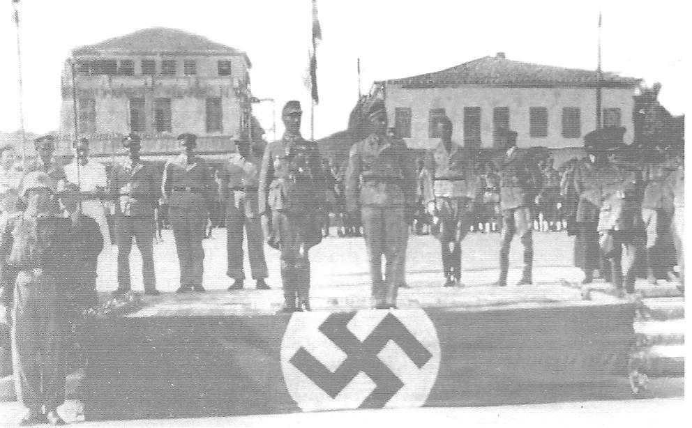 Επίσημο Μνημόσυνο εις μνήμην των θυμάτων της Γερμανικής Κατοχής τον Ιούλιο του 1943 σ